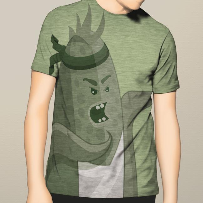 Combine Cornzilla Shirt