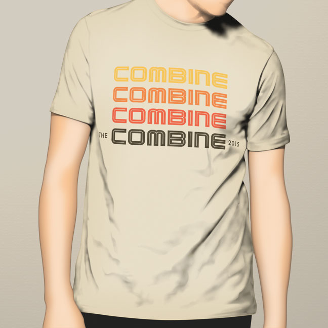Combine 2015 tshirt