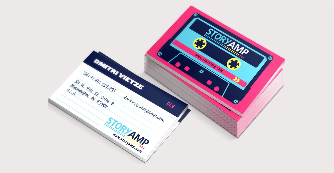 StoryAmp Business Cards